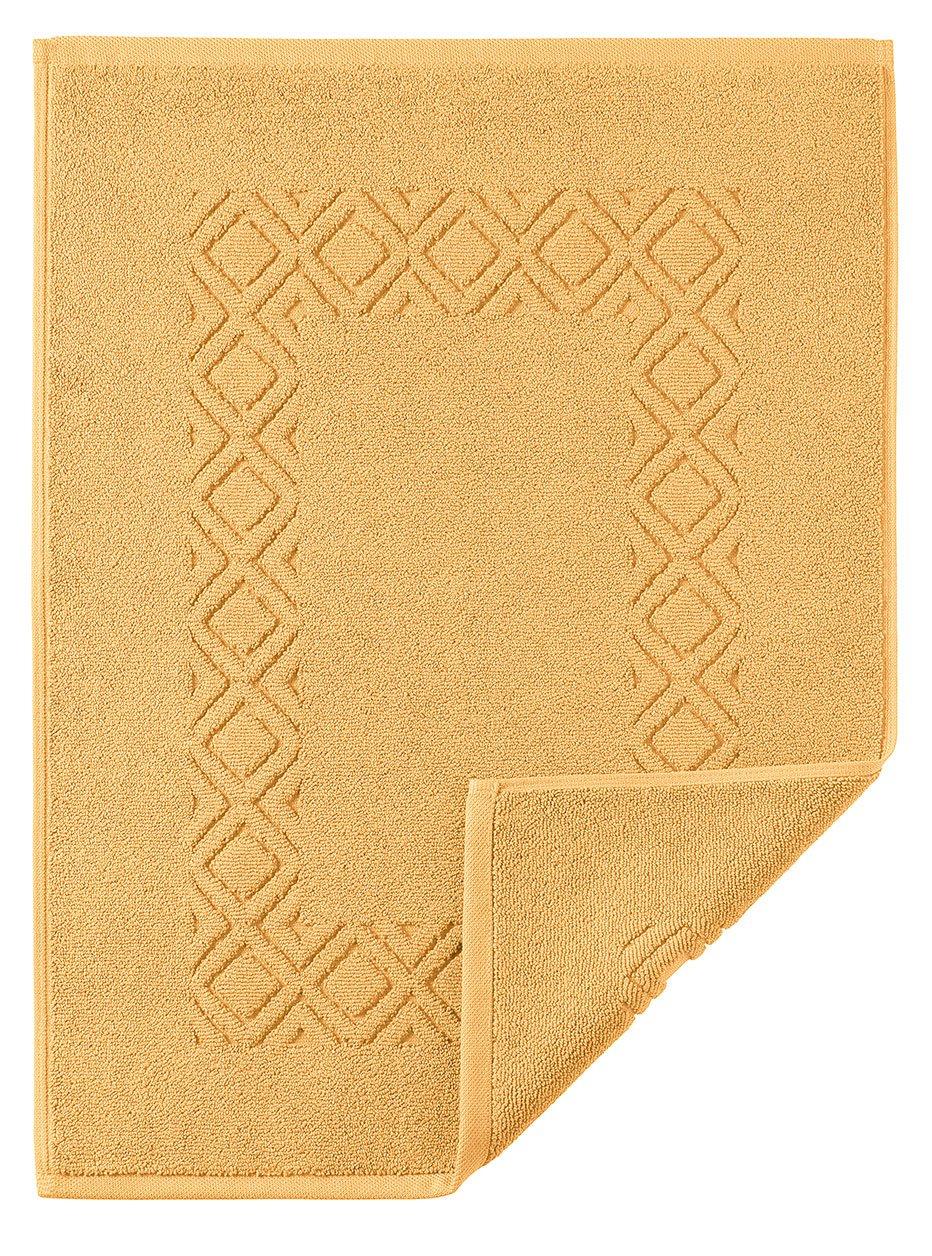 50x70 Cm Badteppich Denver- Aus 100/% Baumwolle Badvorleger in 10 Farben und 3 Gr/ö/ßen Farbe bordeaux 280 Badematte Gr/ö/ße Badvorleger