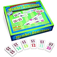 Dominoes Premium Professional Double 15 Set with Numbers