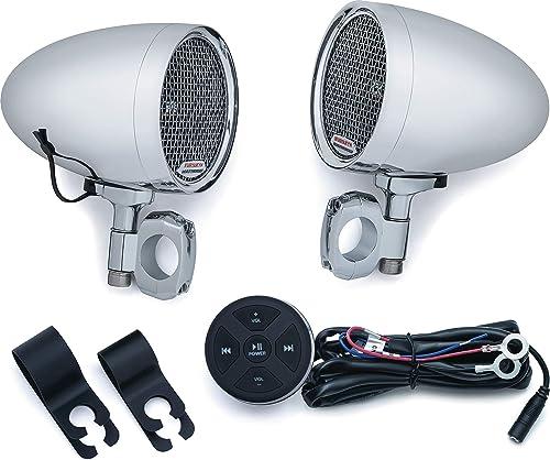 Kuryakyn 2712 MTX Road Thunder Weather Resistant Motorcycle Speakers