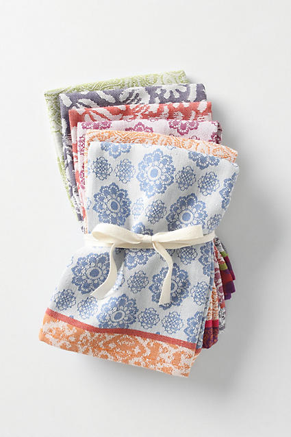 Nifty Napkins - anthropologie.c​om