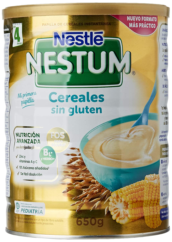 Nestlé Papillas NESTUM Cereales para bebé - Papillas sin ...