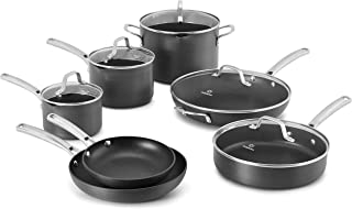product image for Calphalon Classic Cookware Set, 12-pc, Grey