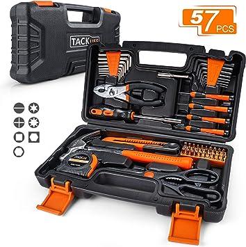 Basics 51 piezas Juego de herramientas para el hogar