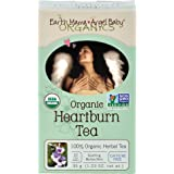 Earth Mama Angel Baby Organic Heartburn Tea Non GMO natural rescue for pregnancy heartburn and long after 16 Teabags/Box (pack of 3)