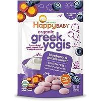Happy Baby Organic Greek Yogurt Yogi, Blueberry and Purple Carrot, 28g