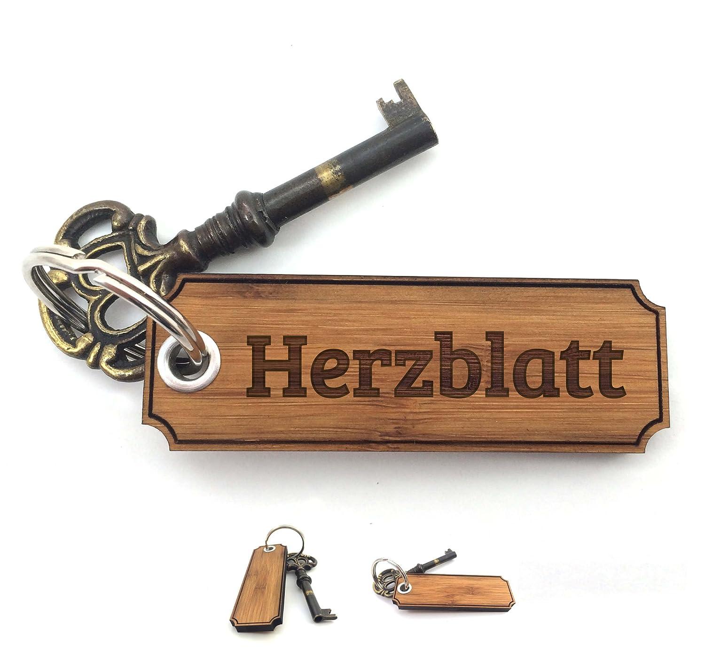 Schlüsselanhänger HERZBLATT