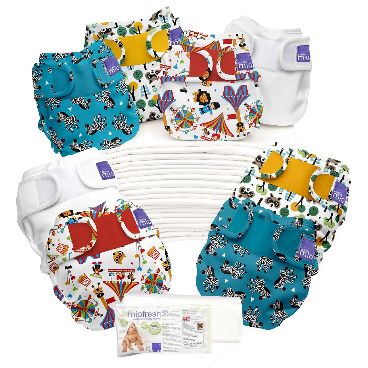 Bambino Mio Miosoft Birth to Potty Pack, Dream Traveller Bambino Mio UK BTPMS DT
