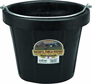 Little Giant Rubber Pail All-Purpose Rubber Pail (12 Quart) (Item No. DF12)