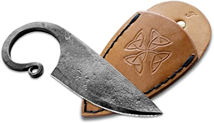 Hand Forged Knife.Hardened Blade Great.Beautiful Product. Celtic Pocket Knife Art Collection Antiquity Beautiful Product Toferner Original Gift Vintage