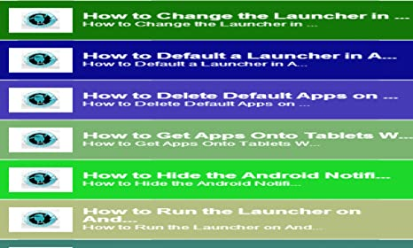 Amazon com: Tablet Launcher App: Appstore for Android