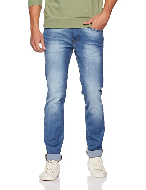 aef95fcf US Polo Association Men's Skinny Fit Jeans (UDJN0110_Blue_30W x ...