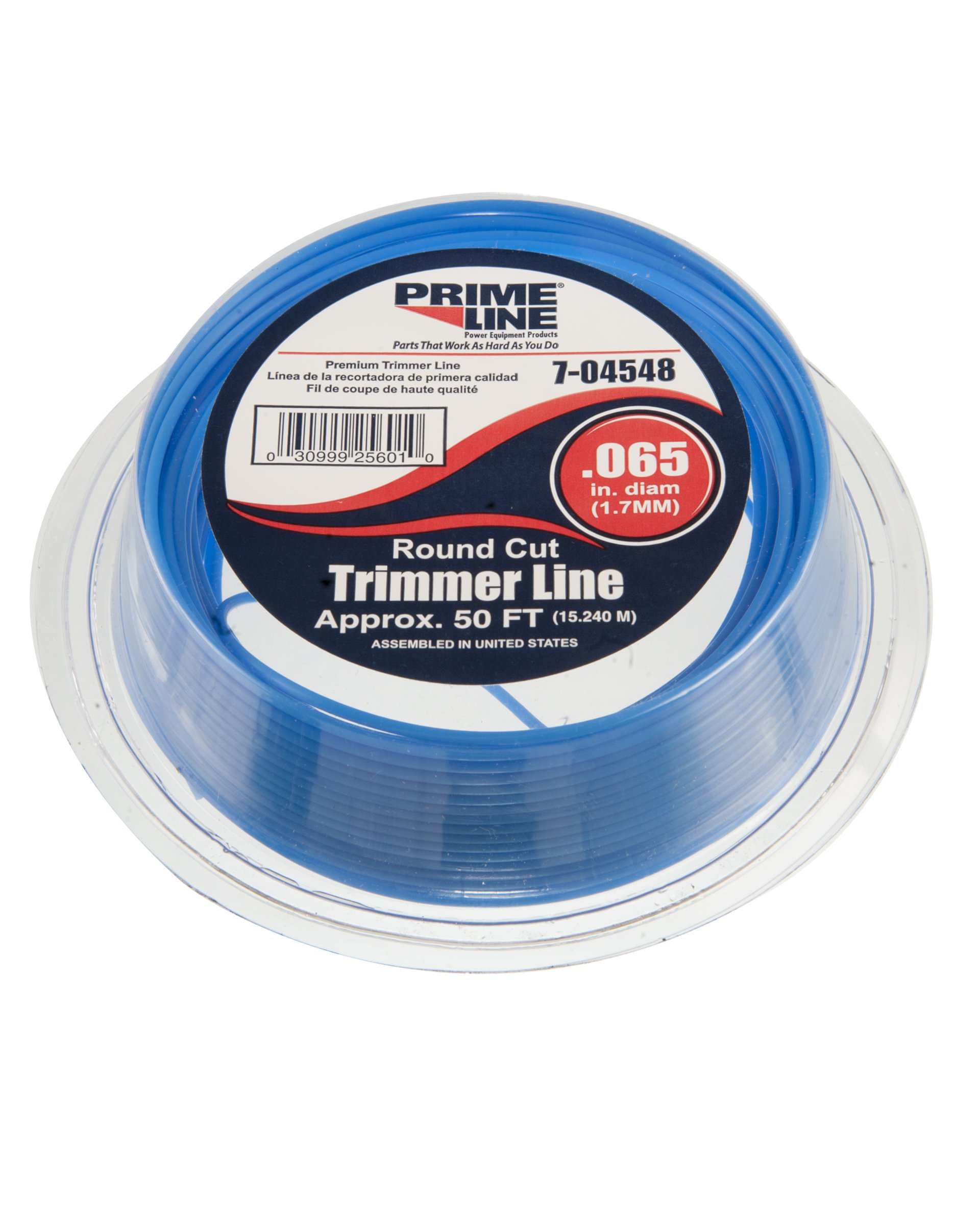 Prime Line 7-04548 Round Cut Trimmer Line, 50-Feet by 0.065-Inch Diameter