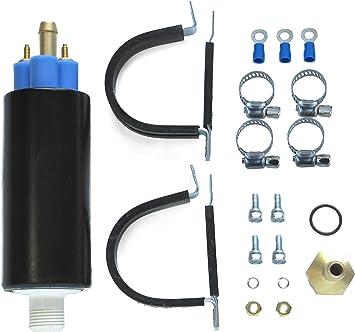 Autobest HP4005 High Performance In-Line Electric Fuel Pump 12 Volt 12-17 PSI 50