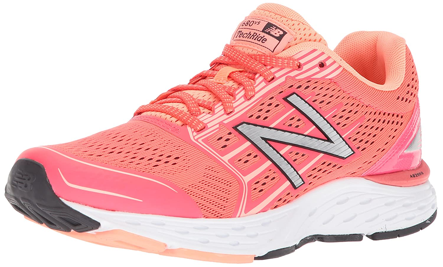 New Balance Women's 680v5 Cushioning Running Shoe B06XSDMZC4 8.5 B(M) US|Coral