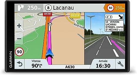 Garmin DriveSmart 61 Full EU LMT-S - Navegador GPS con mapas de por vida y tráfico vía móvil (pantalla de 6