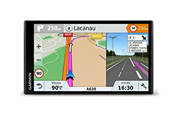 Garmin DriveSmart 61LMT-S 6 95 Inch Sat Nav with Lifetime Map Updates for  UK, Ireland and Full Europe, Free Live Traffic and Built-In Wi-Fi,Black