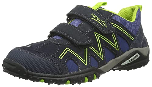 Superfit Jungen SPORT4 Sneaker, Blau (Ocean Kombi), 35 EU
