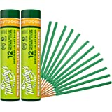 Murphy's Naturals Mosquito Repellent Incense Sticks | DEET Free with Plant Based Essential Oils | 2.5 Hour Protection | 12 St
