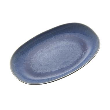 Mikasa Aventura Oval Platter, 14-Inch, Blue