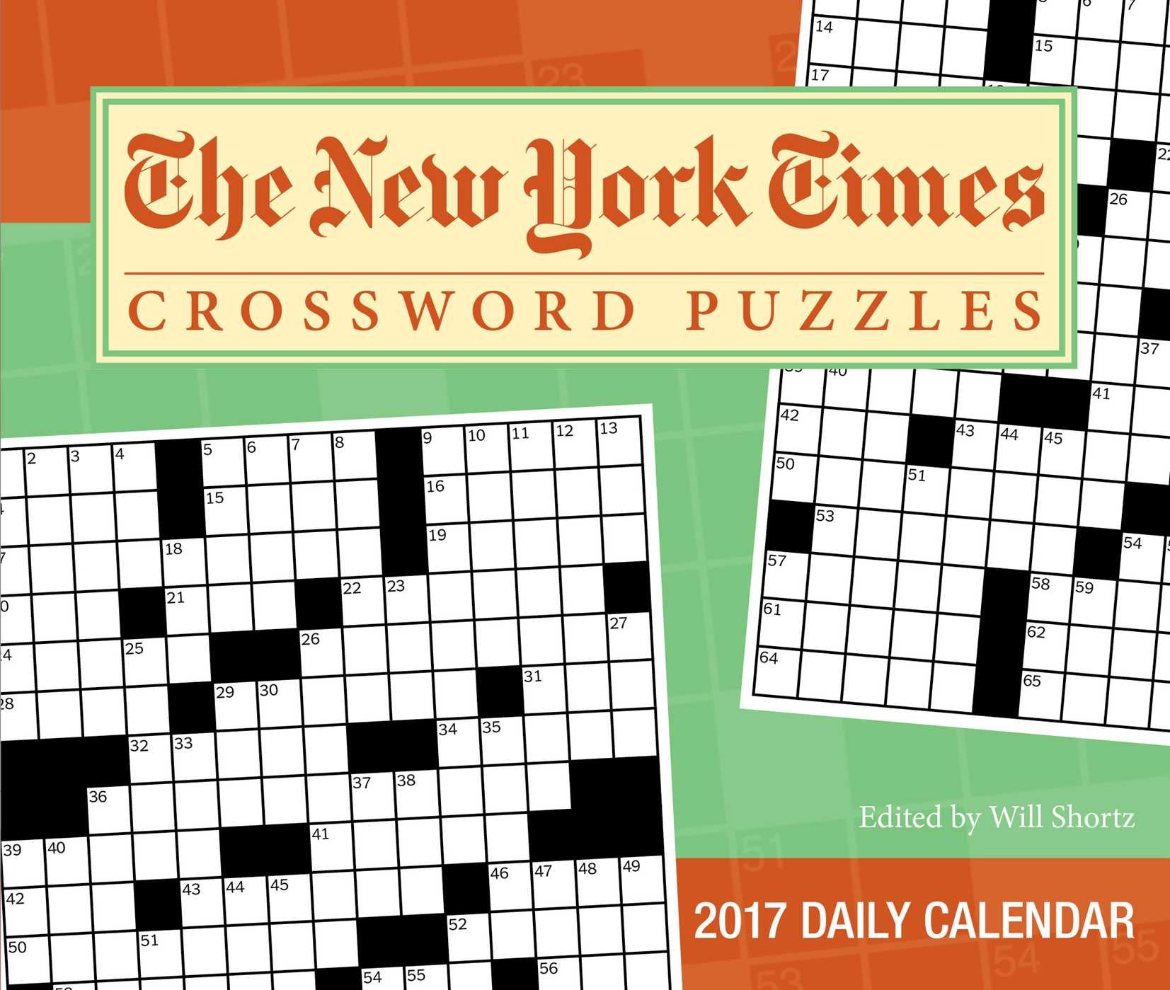 The New York Times Crosswords 2017 Day-to-Day Calendar: The New York Times:  9781449477097: Amazon.com: Books