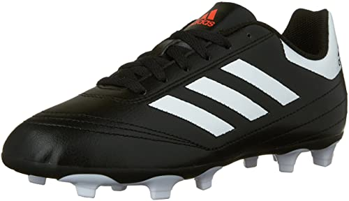 quality design c7f41 b0193 Adidas Kids Boys Junior Goletto 6 Firm Ground Soccer Shoes, Core  BlackFootwear White
