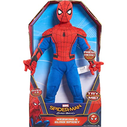 Amazon Com Just Play Marvel Spider Man Homecoming Sling Soar