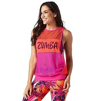 Zumba Fitness Z1t01253 Débardeur Femme  Amazon.fr  Sports et Loisirs 0072bbca47d