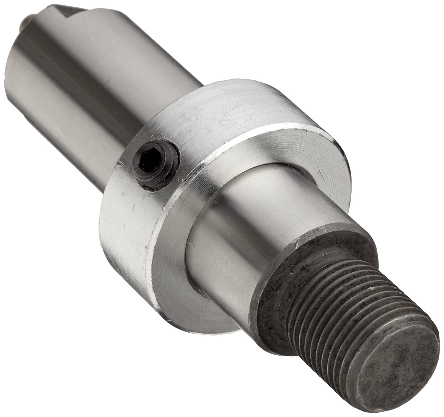 """TWO 1-1//2/"""" STEEL DRIVE FLAT BELT PULLEYS-3//8/""""--A 5//16/"""" CENTER WITH A SET SCREW"""