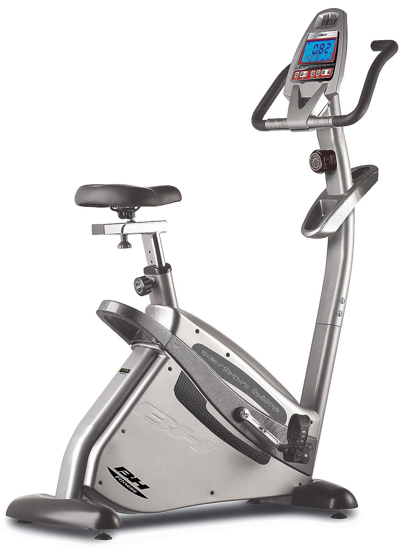 BH Fitness Bicicleta Estática h8702 Carbon Bike, Plata, h8702 ...