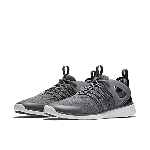 e42e96265d1e ... sweden nike womens free viritous fleece shoes tumbled grey white black  d603e a8f19