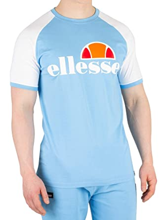 2142c3979a ellesse Men's Cassina T-Shirt, White: Amazon.co.uk: Clothing
