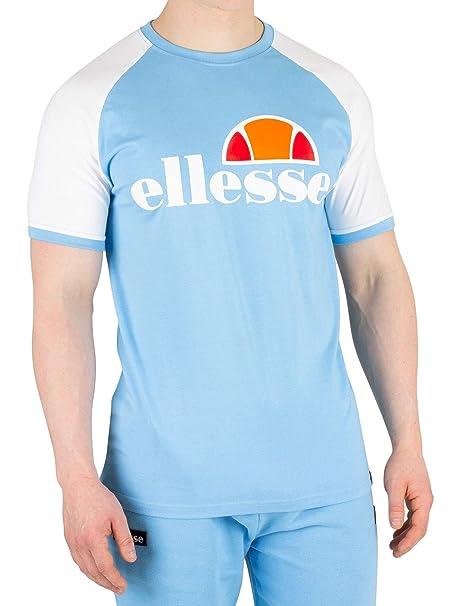 47374041 ellesse Men's Cassina T-Shirt, White, S | Amazon.com