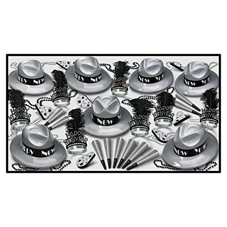 Beistle Silver Swing Party Favors Assortment For 50 The Beistle Company 88288-S50