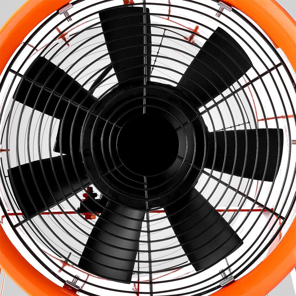 OUKANING Ventilateur 520 W 300 mm Ventilateur de chantier Ventilateur de chantier Ventilateur de chantier 5 m