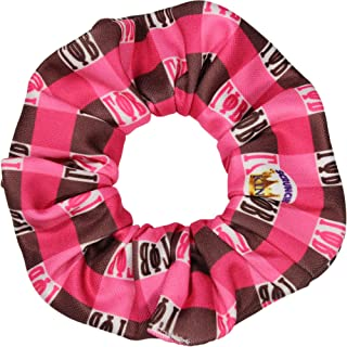 product image for Gamma Phi Beta Sorority Scrunchies Officially Licensed Greek Letter Plaid Bid Day Ponytail Holders Scrunchie King Made in the USA