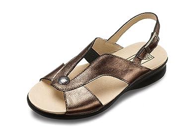 a0d687c1476 Db Shoes Cyprus Womens Sandal Wide Fitting - 6E  Amazon.co.uk  Shoes ...