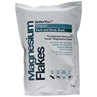 BetterYou Original Magnesium Flakes (Foot & Body Soak) - 1kg