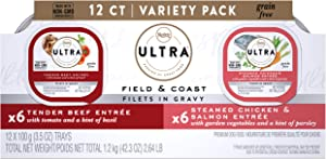 Nutro Ultra Grain Free Filets in Gravy Wet Dog Food