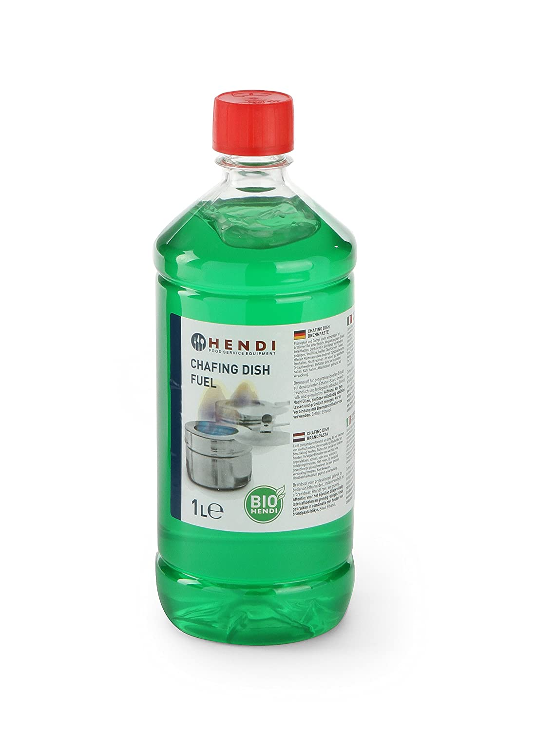 Fondue Fuel Bottle 1L Hendi 195109