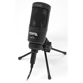 plugable performance studio grade usb microphone cardioid condenser optimized for. Black Bedroom Furniture Sets. Home Design Ideas