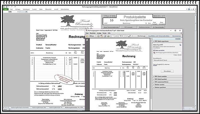 Rechnungsprogramm Rechnungssoftware Rechnungsdruckereian Für Alle
