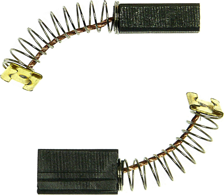 1 Satz Kohlebürsten 4 x 6 mm mit Litze Kollektorbürsten Kleinmotore