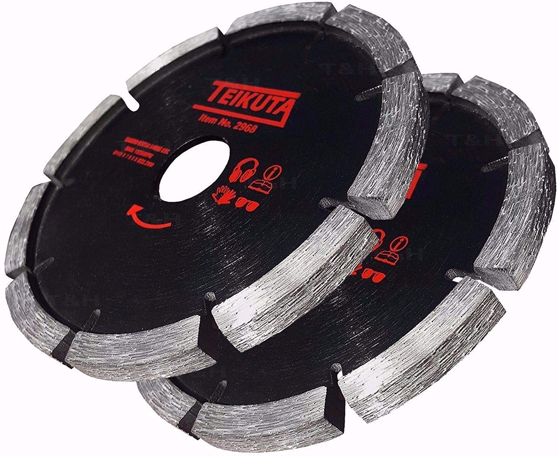 2X Mortar Raking Disc 115mm 41//2 Diamond Mortar Raking Blade Angle Grinder Disc