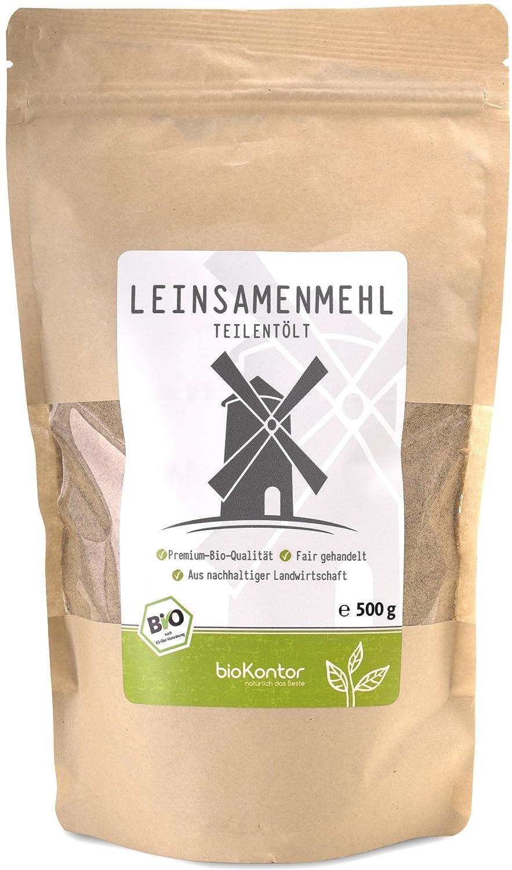 bioKontor Leinsamenmehl