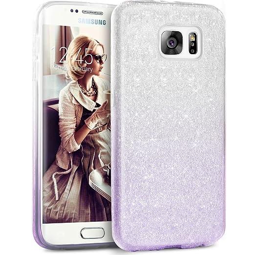 8 opinioni per Cover Samsung Galaxy S7 Edge, Custodia telefonica TheBlingZ.® Sparkle Premium