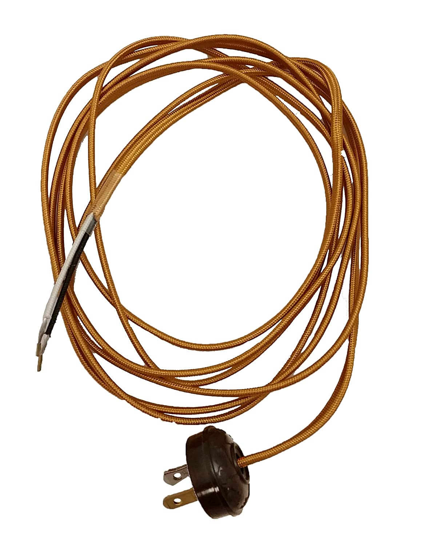 Peachy Amazon Com Bp Lamp Rayon Lamp Cord Set Antique Style Plug Home Wiring 101 Taclepimsautoservicenl
