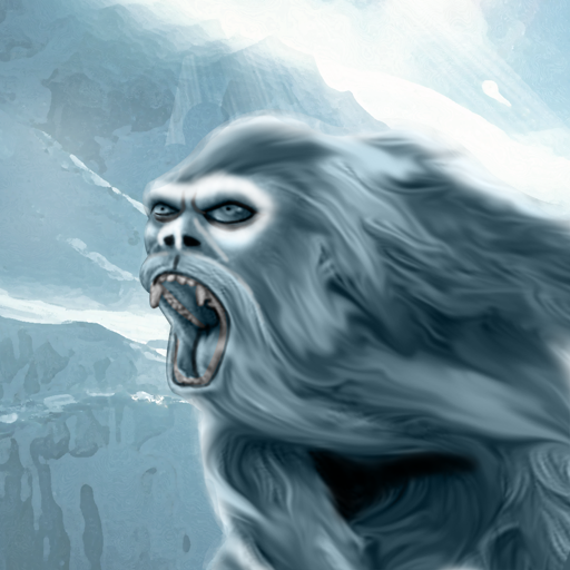 Yeti Bigfoot Sasquatch winter mountain product image