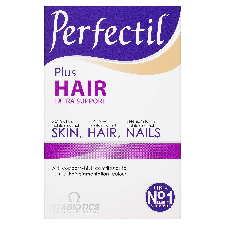 Perfectil Plus Hair Tablets - Pack of 60 by VITABIOTICS LTD: Amazon.es: Salud y cuidado personal