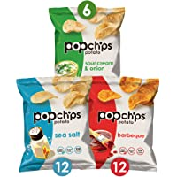 3-Pack Popchips Potato Chips Variety Pack