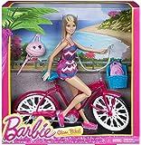 barbie glam bike with doll